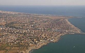 Fiumicino - Aerial view of Fiumicino