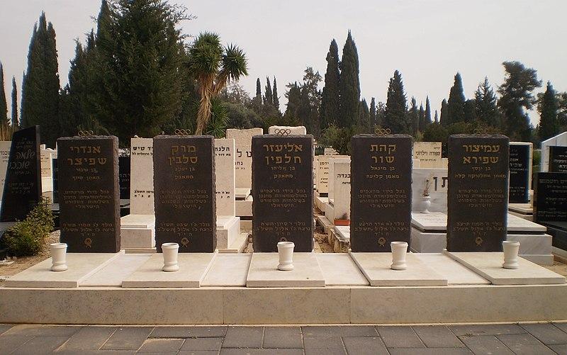 File:Five victims of the Munich massacre.JPG