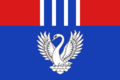 Flag of Ilmenskoe (Rudnyansky rayon).png