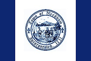 Needham, Massachusetts - Image: Flag of Needham, Massachusetts