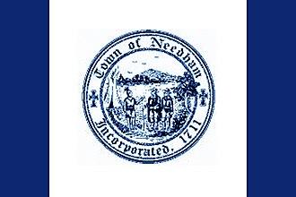 Needham, Massachusetts - Image: Flag of Needham, Massachusetts