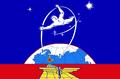 Flag of Zvyozdny gorodok (proposal).png