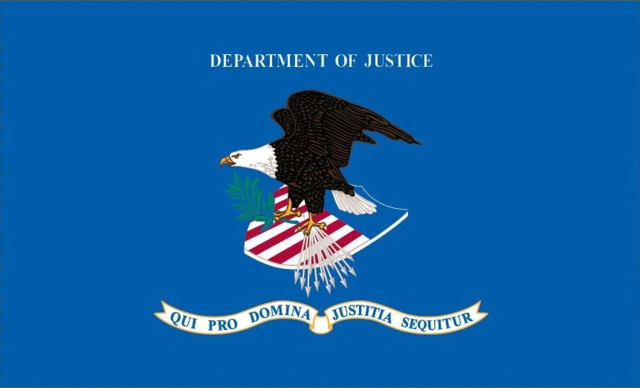 Flag of the United States Department of Justice