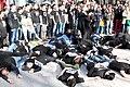 Flashmob anlässlich der Tragödie von Chodschali in Hamburg 2015.jpg