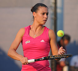 Flavia Penetta at the 2010 US Open 03.jpg