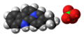 Flavopereirine perchlorate ions spacefill.png