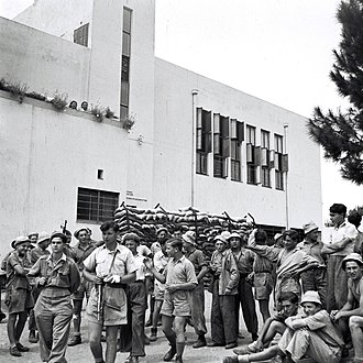 Haganah - The Haganah mobilized Jewish youth for military training