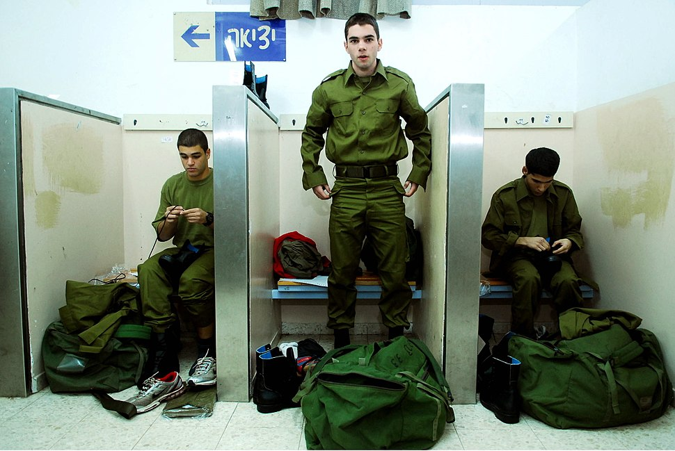 Flickr - Israel Defense Forces - Trying on Uniforms for the First Time (1)