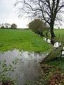 Flooded Burn Beside High Cleughearn Road - geograph.org.uk - 281944.jpg
