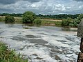Foaming water on River Weaver - geograph.org.uk - 1305065.jpg