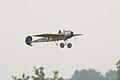 Fokker EIII Oblt Schildknecht Landing 01 Dawn Patrol NMUSAF 26Sept09 (14413266780).jpg
