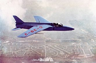Folland Gnat - First Gnat F.1 prototype