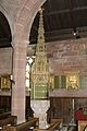 Font in the Church of the Holy Angels, Hoar Cross.jpg