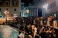 Fontana di Trevi (Trevi Fountain) by night (16770728020).jpg