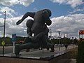 Football Statue at Stadium City, Philadelphia - panoramio.jpg
