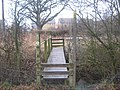 Footbridge on the Greensand Way near Pound Lane - geograph.org.uk - 1720696.jpg