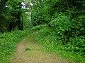 Footpath, Top Carpark, Colby Lodge - National Trust Gardens - geograph.org.uk - 1370044.jpg