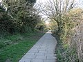 Footpath linking Shakespeare Road and Popley Way - geograph.org.uk - 772938.jpg