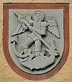 Forchtenberg Wappen am Rathaus.JPG