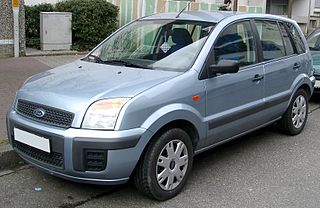 Ford Fusion (Europe) Motor vehicle