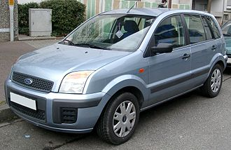 Ford Fusion (Europe) - Image: Ford Fusion front 20080222