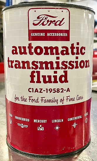 Automatic transmission fluid - 1960 Ford Type B ATF