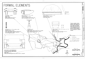 Formal Elements- Benches, Fountains, and Hitching Post - Marsh-Billings-Rockefeller National Historical Park, 54 Elm Street, Woodstock, Windsor County, VT HALS VT-1 (sheet 16 of 19).png