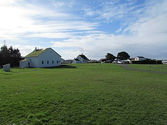 Fort Humboldt State Historic Park - View of Fort Humboldt
