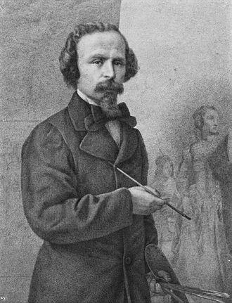 Francesco Coghetti - Self-portrait