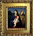 Francesco Raibolini detto il Francia, Madonna col Bambino e san Francesco, 1510 circa.jpg