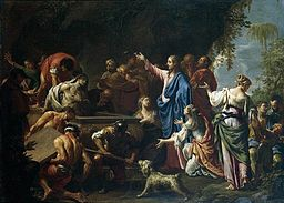 Francesco Trevisani - The Raising of Lazarus - WGA23058