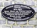 Francis Owen Salisbury plaque.jpg