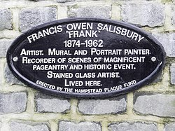 Francis owen salisbury plaque
