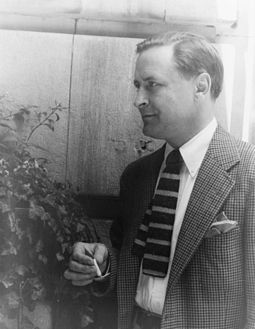 Fitzgerald with a cigarette in 1937 Francis Scott Fitzgerald 1937 June 4 (2) (photo by Carl van Vechten).jpg