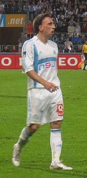 Franck ribry wikipedia franck ribry with marseille against lille in october 2005 voltagebd Images