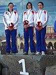 Francuskie kajakarki w konkurencji K1 (9212187003).jpg