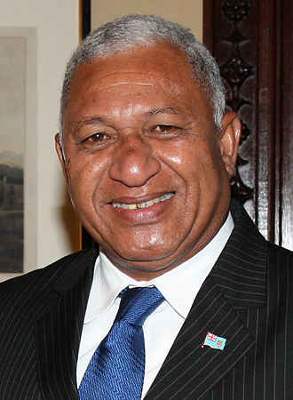Prime Minister of Fiji - Image: Frank Bainimarama November 2014