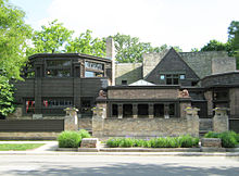Frank Lloyd Wright Prairie Houses frank lloyd wright - wikipedia