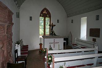 Frankenstein Castle - Frankenstein Chapel inside