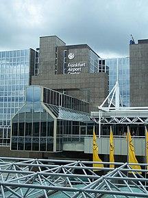 Frankfurtes pie Mainas lidosta