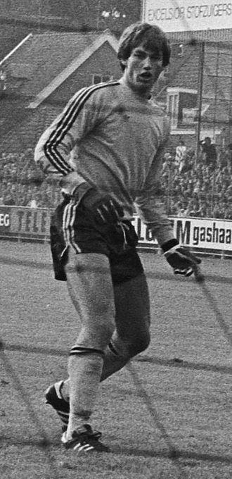 Frans Hoek - Hoek in goal for FC Volendam in 1977