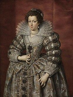 Frans Pourbus (1569) - Anna von Österreich - 2804 - Staatliche Kunsthalle Karlsruhe.jpg