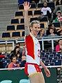 Frauke Dirickx - FIVB World Championship European Qualification Women Łódź January 2014.jpg
