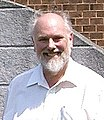 Fred Grassle, U.S. Oceanographer, outside Rutgers Institute of Marine and Coastal Sciences, June 2004 (Tony Rees photograph).jpg