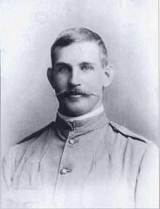 Frederick Belson - Belson in his Boer War uniform