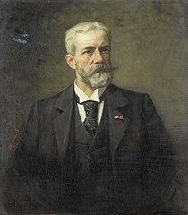 Portrait of Frederik Daniël Otto Obreen (1840-96), director Rijksmuseum
