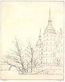 Frederiksborg Slot. Parti ved Møntbroen 1832 by Købke.jpg