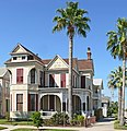 Fredrick William Beissner House -- Front, Galveston.jpg