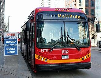 RTD Bus & Rail - 16th Street Mall shuttle bus