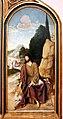 Frei carlos, trittico del calvario, 1520-30 ca. 04 san giovanni e il battesimo di cristo.jpg